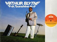 ARTHUR BLYTHE put sunshine in it 26098 dutch cbs 1985 LP PS EX+/EX