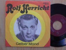 """ROLF HERRICHT & DIE ALLEGROS DDR AMIGA 7"""": GELBER MOND/TANGO MIT ROSA (450735)"""