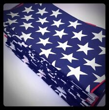 American Flag Handkerchief / Bandanna MADE IN AMERICA 100% Cotton