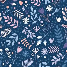 Remnant Andover Fabrics Floral Splendor Cotton Fabric 52cm x 112cm