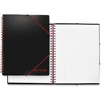 Black n' Red A4+ Ruled Filing Notebook Legal Rule Black Cover 11 5/8 x 8 1/4 80