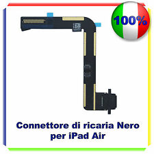 iPad Air Ricambio Dock Connettore Lightning Porta Ricarica Flex Cable - NERA