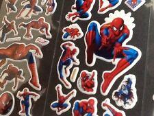 Spiderman adesivi in PVC imbottito 12 confezioni 3 diverse 4 di ciascuno-Party Borsa Regalo
