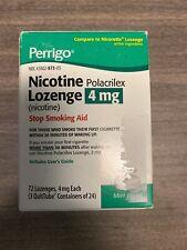 Perrigo Nicotine Lozenges - 4mg - Mint Flavor (72 Lozenges, 4mg each)