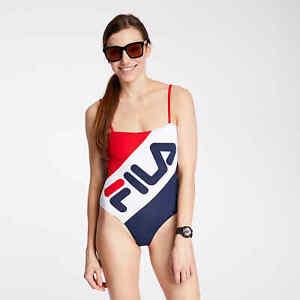 FILA Women's Mei Swimsuit Bathing Beach Leisure Comfortable Swimwear