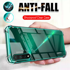 For Huawei Nova 5T 5 Pro 3i Shockproof Silicone Bumper Clear Soft TPU Case Cover