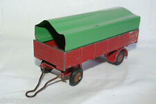 DINKY TOYS 70 REMORQUE BACHEE LARGE COVERED TRAILER EXCELLENT CONDITION