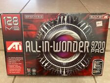 ATI All-in-Wonder Radeon 9700 Pro 128mb AGP 8x/4x Grafikkarte! NEU in Verpackung!