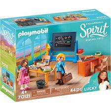 Playmobil 70121 Dreamworks Spirit Riding Free: Miss Flores' Classroom Playset