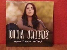 Dina Valenz - Miles & Miles [CD New] Sealed Digipac  B1087