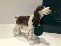 Liver White Roan English Cocker Spaniel Ornament Gift Figure Figurine