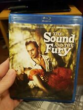 The Sound and the Fury (Blu-ray, 2012) OOP Twilight Time! 1959 Brynner!