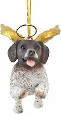 Pointer Dog Angel With Wings + Halo Honour the Pooch Christmas Tree Decoration