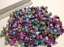 40 pieces Colorful Metal Craft Christmas Bells Supplies 10mm 25