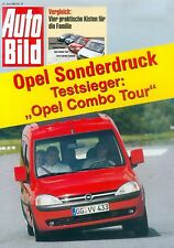 Opel Combo Tour Kangoo Partner Tourneo Connect Sonderdruck Auto Bild 24/03 2003