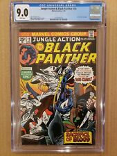 Jungle Action #19 Black Panther Ku Klux Klan story CGC 9.0 WHITE PAGES VF/NM