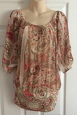 WOMEN JANE NORMAN  •SIZE  10  POLYESTER  blouse top
