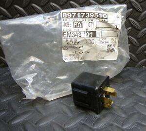 NEW Isuzu Motors 8971739510 Glow Plug Relay  JIDECO 8-97173951-0