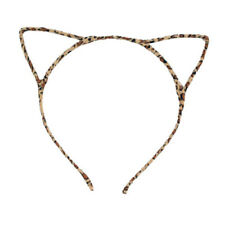 Women Cute Cat Kitty Kitten Ears Metal Headband Hair Band Cosplay Party GD