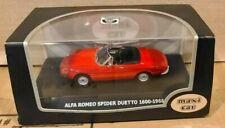MaxiCar 1966 Alfa Romeo Spider Duetto 1600 RED (1/43) RARE