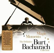 Magic Moments: The Definitive Collection [Box] by Burt Bacharach (CD,...