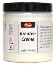 Viva Decor - Kreativ-Creme 250ml, abwaschbar, Weiß