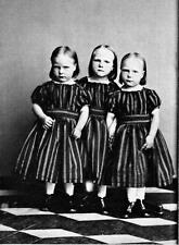 Old Photo. Norway.  Cute - 3 Little Girls