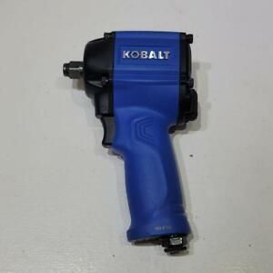 "Kobalt SGY-AIR185 1/2"" Inch Drive Compact Impact Wrench Air Tool 450 Ft-Lbs"