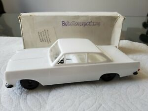 Tin Friction Opel Rekord made by VEB Plasticart in East Germany rare NMIB