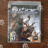GI JOE THE RISE OF COBRA ( Playstation 3 PS3  ) Tested