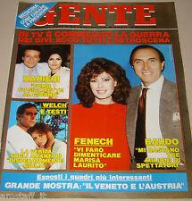 GENTE=1989/41=EDWIGE FENECH=ENRICO RUGGERI=SHELLEY WINTERS=CABRINI=DALAI LAMA=