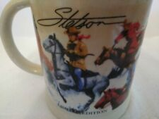 Limited Edition Stetson Horses Stein Mug Cup