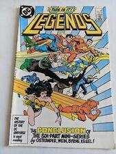 Legends #6 April 1987 DC Comics Shazam Superman Batman