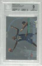 2000-01 Fleer Ultra Platinum Medallion Kevin Garnett BGS 9 Timberwolves #02/50