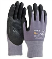 Gtek 34 844 Maxiflex Ultimate Nitrilefoam Gloves With Dotted Palm 6 Pair Pick Size
