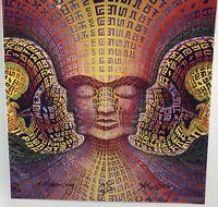 Alex Grey & Allyson Grey Secret Writing of Being LSD Blotter Art Signed135/222