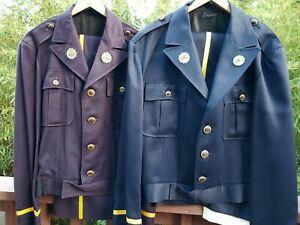 Lot of 2 Vintage American Legion Member Uniform - Jackets & Pants