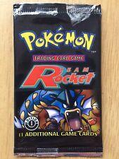 Pokemon Team Rocket 1st Edition Booster pack Gyardos Art