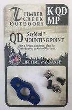 TIMBER CREEK - KeyMod - QUICK DETACH MOUNTING POINT - BLUE - MADE IN USA