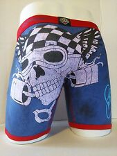 Ed Hardy Men's Motorcycle Print  Boxer Briefs Size Medium