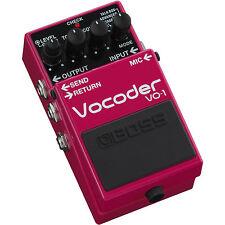 BOSS VO-1 Digital Vocoder Guitar Bass Synth Effect Pedal Vocal Talk Box Mode