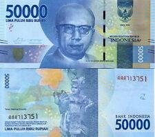 INDONESIA - 50.000 Rupiah 2016 FDS - UNC