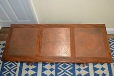 20th Century G Plan coffee table with hammered copper top