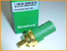 Sensor de Temperatura del Refrigerante Del Agua borsehung GENUINA VW AUDI SEAT SKODA 059919501 A