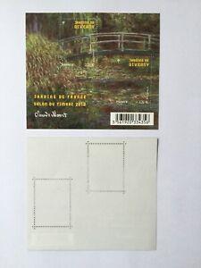 Feuillet timbres France 2010 YT F4479. Jardins de France. Jardins de Giverny