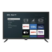 Smart Tv 32 Class 720p Hd Led Roku Onn Wireless Streaming Small Space