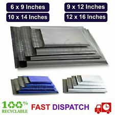 More details for mailing bags grey strong parcel postage plastic post poly mailer self seal