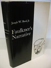 FAULKNER'S NARRATIVE by Joseph W. Reed 1974 Yale William Faulkner Near Fine/NF