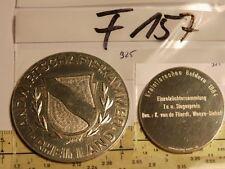 Medaille Landwirtschaftkammer Rheinland 1964 925er Echt Silber (F157-)