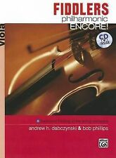 NEW Fiddlers Philharmonic Encore!: Viola, Book & CD